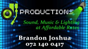 Productions Business Card
