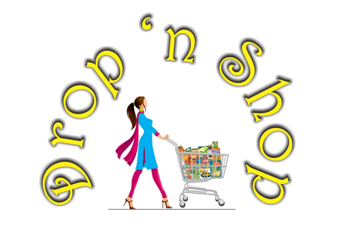 Graphic Design-Drop n Shop Logo