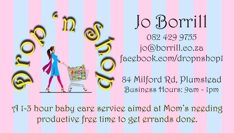 Drop n Shop Business Card