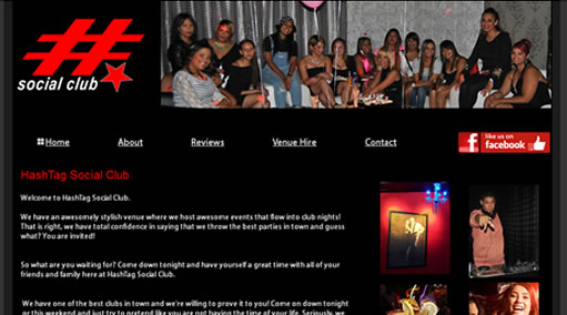 Websites-Hashtag Social Club