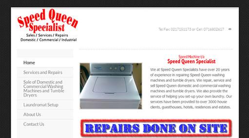 Websites-Speed Queen Specialist