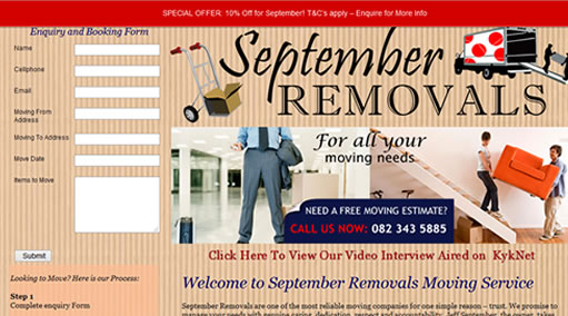 September Removals